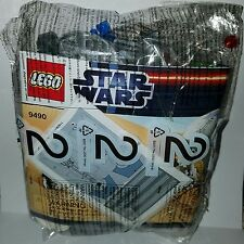 LEGO Star Wars Set 9490 Droid Escape Pod & Speeder Bike NO MINIFIGURES
