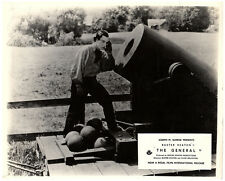 The General Original Lobby Card Buster Keaton Classic Comedy Cannon