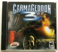 Carmageddon 3 TDR PC CD-ROM Game with Jewel Case