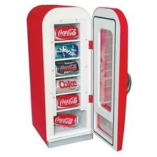 Vintage Coke Vending Machine Mini Red Retro Kitchen Fridge Ice Coca Cola Rewards