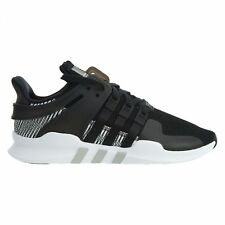 size 40 b9d15 7d69d Adidas EQT Support ADV Mens BY9585 Black White Knit Mesh Running Shoes Size  6