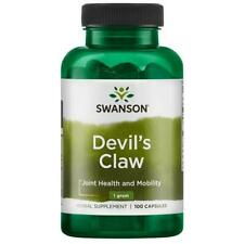 100% NATURAL® Devil's Claw Extract 500mg | Joints Support - 100 Capsules