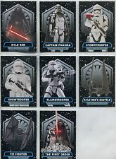 Star Wars JTTFA Complete Power Of The First Order Chase Card Set FO1-8