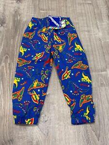 NWT Vintage Garanimals Dinosaur Blue Pants 3t G1