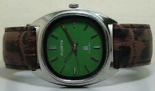 Vintage ALLWYN Winding Mens Stainless Steel Wrist Watch Old Used R727 Antique