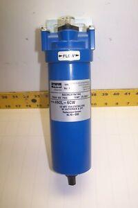 """NEW PARKER 1/2"""" NPT FILTER COALESCING HSG W/ AUTODRAIN & DPI 250 PSIG  HN2L-6CW"""