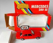 Mercedes Benz 280 SE Red Polistil 1977 1/43 Model CE75 Mint Condition