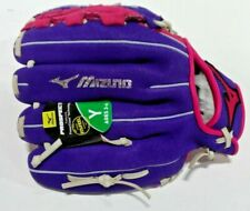"Mizuno Finch Prospect Youth(3-6) Softball Glove Pink/Purple 10"" Right Hand Throw"