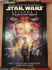 STAR WARS Soundtrack Movie Poster LIAM NEESON NATALIE PORTMAN STEVEN SPIELBERG