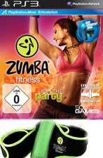 Playstation 3 ZUMBA FITNESS Join The Party Mit GÜRTEL  Sehr guter Zustand