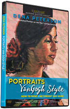 DENA PETERSON: PORTRAITS VAN GOGH STYLE - ART INSTRUCTION DVD