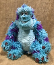 """18"""" Monsters Inc Sully Disney Store Plush Stuffed Animal Authentic Blue Monster"""