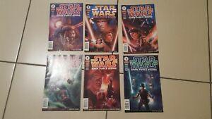 Star Wars 'Dark Force Rising' Dark Horse Comic set of 6 Perfect!