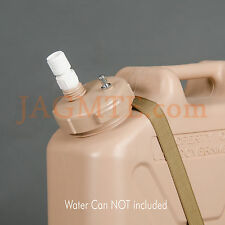 Economy Pressure Kit -Scepter MWC- Sand/Tan -Modified Cap- Military WATER Can