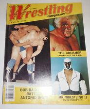 Wrestling Magazine The Crusher & Bob Backlund April 1981 081914R
