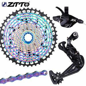 ZTTO MTB 12 Speed Groupset Bike Shifter Rear Derailleur 1*12 Group Set Cassette