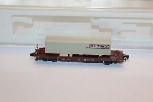 Märklin Z 8662 DB Huckepackwagen Stiebel Eltron - Neuwertig + OVP