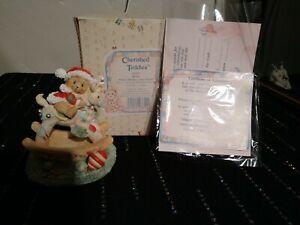 """Vintage Cherished Teddies Beth """"Happy Holidays, Deer Friend"""" #950807"""