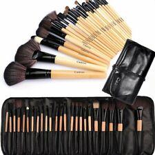 Make up Brushes,Cadrim 24 pcs Natural Hair Professional Makeup Brush Set Travel