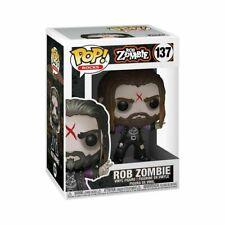 Funko POP Vinyl Rock ! Rob Zombie - #137- IN STOCK! NEW!!!