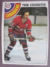 1978-79 Topps #60 Yvan Cournoyer Montreal Canadiens