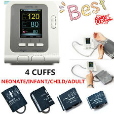 Automatic Blood Pressure Monitor+Neonate+Infant+Child+Adult 4 Cuffs Contec08A