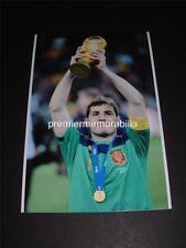 España 2010 FIFA World Cup Ganadores capitán Iker Casillas foto final