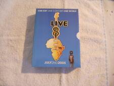 "VV.AA. ""Live 8  July 2ND 2005""  4 DVD Box EMI Rec.  10 Hours NEW $"