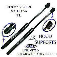 2 Two New Front Hood Lift Supports Shock Strut Prop Arm Rod Damper For 09-14 TL