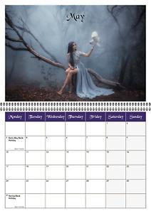 2021 Fantasy Calendar