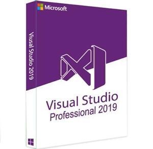 Visual Studio 2019 Professional Retail KEY Full Version