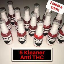 Lot 5 Sprays Kleaner Anti THC Nettoyant Salivaire