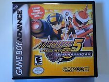 Megaman Battle Network 5 Team Protoman - GBA - Replacement Case - No Game