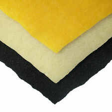 "1/8"" (3.2mm) Crepe Rubber - 16"" x 55"" Sheets - 3 Colors"