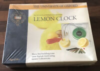 Lemon Clock Kit - University of Oxford Smart Kit Series - New & Sealed  Age 8+