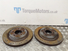 Astra J VXR GTC Rear brake discs PAIR