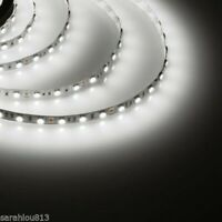 3M FLEXIBLE 5050 LED BRIGHT WHITE LIGHT STRIP SMD 2 X ANY SIZE UNDER CABINET