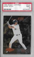 Derek Jeter 1995 PSA 9 Select Certified Rookie Edition Card # 122