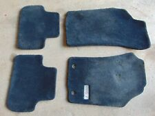Alfa Romeo GT 03-10 Set of 4 Blue Thick carpeted floor matts mat protectors