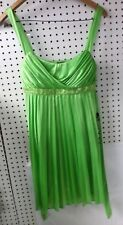 JODI CHRISTOPHER - SHORT LIME-GREEN DRESS - WITH TAGS - FREE SHIPPING