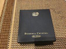 BOHEMIA CRYSTAL CHAMPAGNE FLUTES in beautiful Presentation Box