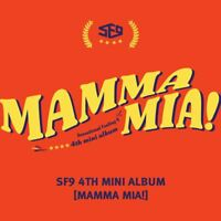 SF9 MAMMA MIA! 4th Mini Album CD+Photobook+Postcard+Photocard+Poster KPOP Sealed
