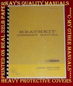 HEATHKIT SB-230 HAM RADIO AMPLIFIER ASSEMBLY MANUAL ~ W/Fold-out Schematic