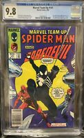 Newsstand CGC 9.8 Marvel Team-Up 141 Tied ASM 252 1st Black Suit in Title