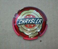NEW 1951-1954 Chrysler Saratoga New Yorker Windsor Grille & Trunk Medallion