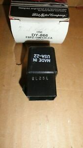 NOS 1980s 90s FORD LINCOLN MERCURY MULTI PURPOSE RELAY DY866 F8PZ14N135CA