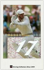 1996 NZ High Velocity Cricket Trading Card The Centurions #1 Martin Crowe