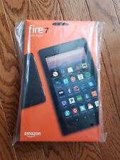"New Amazon Fire 7 Tablet with Alexa, 7"" Display, 8 GB, Black w Special Offers"