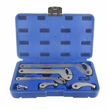 Adjustable Hook And Pin Wrench Spanners C Spanner 35mm - 120mm 6pc Set