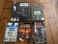 Star Wars Books Lot Of 4 + R2D2 Journal. Star Wars Made Easy, Ultimate Visual